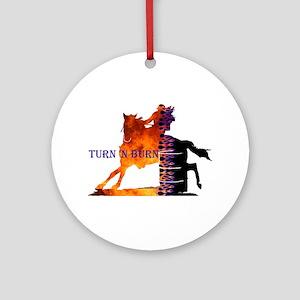 Turn 'n Burn Ornament (Round)