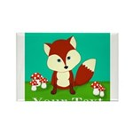 Personalizable Woodland Fox Magnets