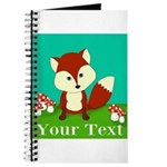 Personalizable Woodland Fox Journal