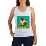 Personalizable Woodland Fox Tank Top