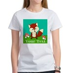 Personalizable Woodland Fox T-Shirt