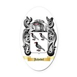 Jahndel Oval Car Magnet