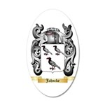 Jahncke 20x12 Oval Wall Decal