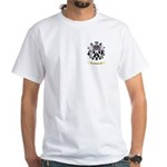Jagson White T-Shirt