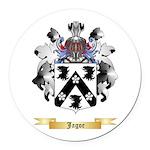 Jagoe Round Car Magnet