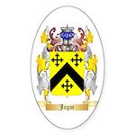 Jagoe 2 Sticker (Oval)