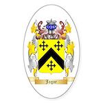 Jagoe 2 Sticker (Oval 50 pk)