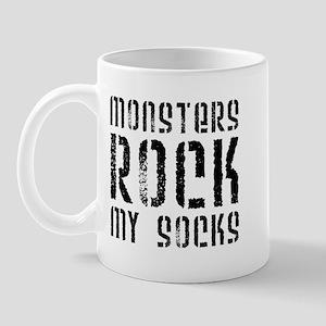 Monsters Rock My Socks Mug