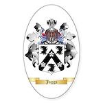Jaggs Sticker (Oval 10 pk)