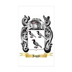 Jaggli Sticker (Rectangle 10 pk)