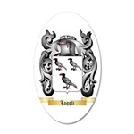 Jaggli 20x12 Oval Wall Decal