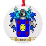 Jagger Round Ornament
