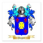 Jagger Square Car Magnet 3