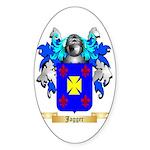 Jagger Sticker (Oval 10 pk)