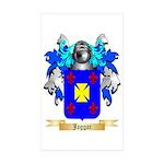 Jaggar Sticker (Rectangle 10 pk)