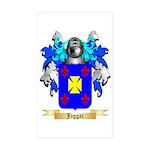 Jaggar Sticker (Rectangle 50 pk)