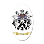 Jagg 35x21 Oval Wall Decal