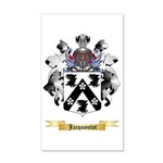 Jacquoutot 35x21 Wall Decal
