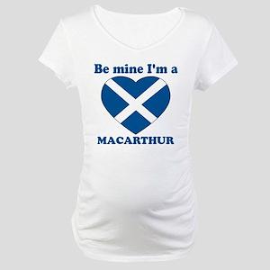 MacArthur, Valentine's Day   Maternity T-Shirt