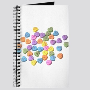 valentines day hearts candy Journal