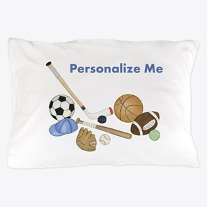 Personalized Sports Pillow Case