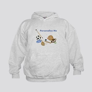 Personalized Sports Kids Hoodie