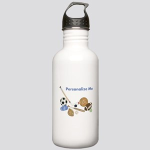Personalized Sports Stainless Water Bottle 1.0L
