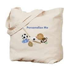Personalized Sports Tote Bag