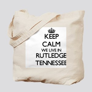 Keep calm we live in Rutledge Tennessee Tote Bag