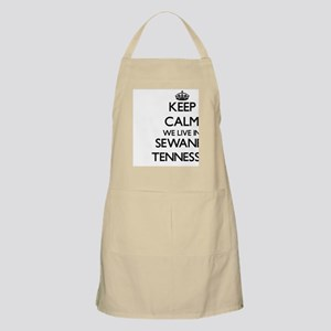 Keep calm we live in Sewanee Tennessee Apron