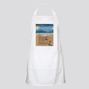 Footprints in the Sand Apron