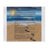 Footprints in the sand Home Decor