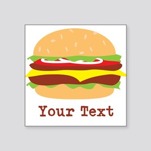 Hamburger, Cheeseburger Sticker