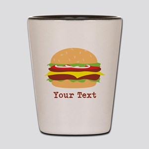 Hamburger, Cheeseburger Shot Glass