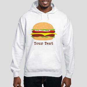 Hamburger, Cheeseburger Hoodie