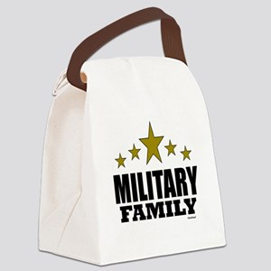 Military Family Canvas Lunch Bag