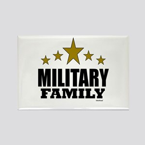 Military Family Rectangle Magnet