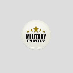 Military Family Mini Button