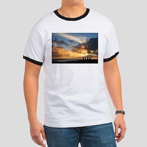 Easter Island Sunset 1 T-Shirt