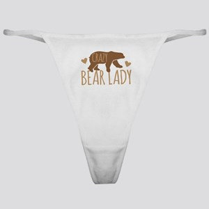Crazy Bear Lady Classic Thong