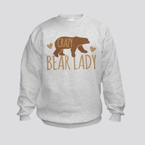 Crazy Bear Lady Jumper Sweater