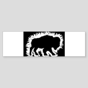 Buffalo Splash Bumper Sticker