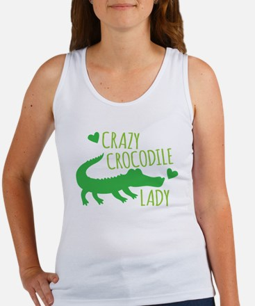 Crazy Crocodile Lady Tank Top