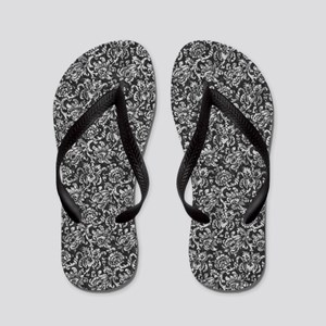 Gear Wallpaper - Black Flip Flops