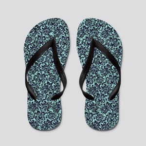 Gear Wallpaper - Blue Flip Flops