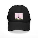 French Poodle Paris Baseball Hat