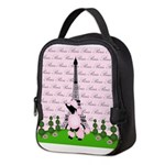 French Poodle Paris Neoprene Lunch Bag