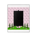 French Poodle Paris Picture Frame