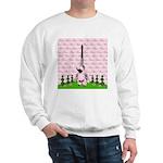 French Poodle Paris Sweatshirt