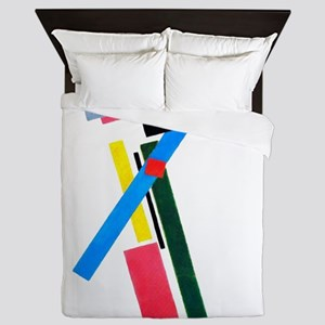 Malevich Abstract Rectangles Russian A Queen Duvet